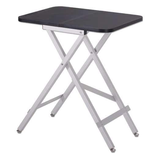 Tavoli Pieghevoli In Alluminio.Tavolo Da Toelettatura Ed Expo In Alluminio Pieghevole Taglia Small