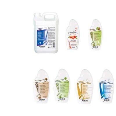 Kit toelettatura shampoo per cani