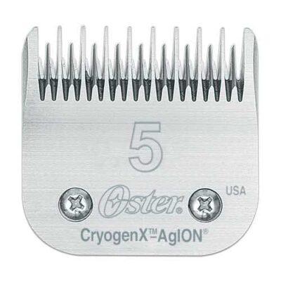 Testine Oster in acciaio 5-6,3mm