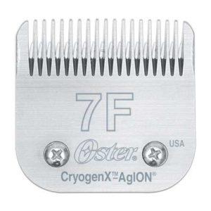 Testine Oster in acciaio 7F-3,2mm