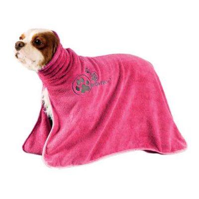 Telo da asciugatura in microfibra rosa mis. L