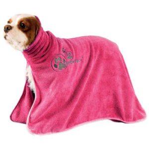Telo da asciugatura in microfibra rosa mis. XL
