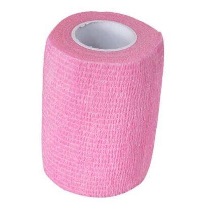 Benda adesiva rosa grande