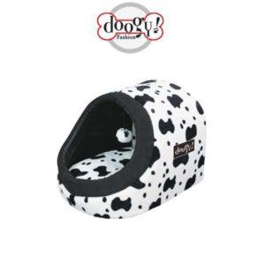 Cuccia per gatti da interno linea fashion mucca