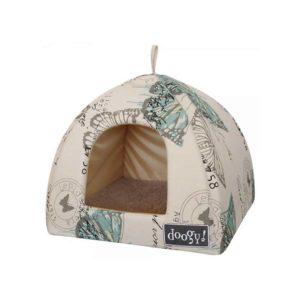 Cuccia per cani da interno pagoda Butterfly