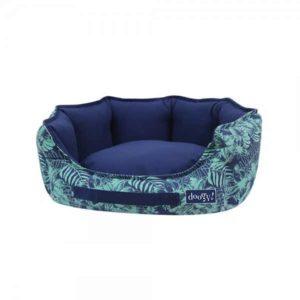 Cuccia da interno per cani e gatti linea Jungle Bleu