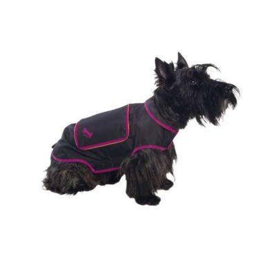 Impermeabile per cani richiudibile colore nero