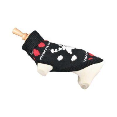 Maglioncino per cani con fantasia renna