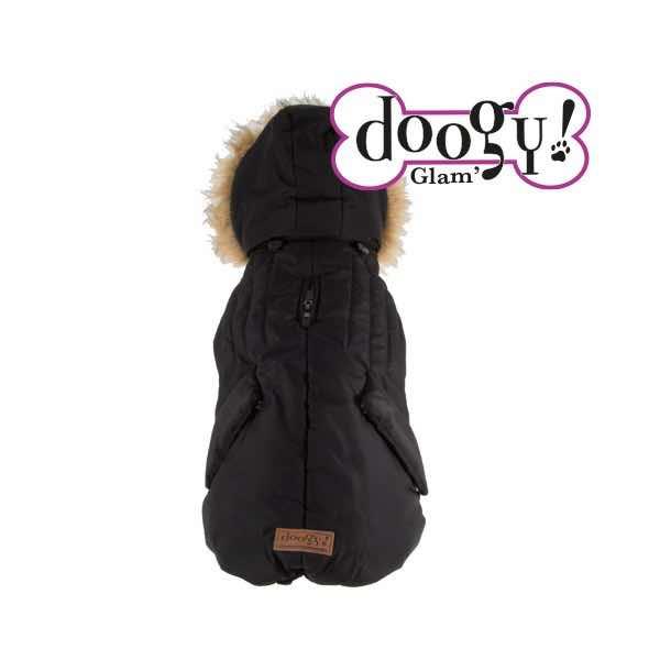 hot sale online 4aa7a 3c41a Piumino per cani invernale impermeabile Artic nero