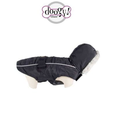 Piumino per cani Softy nero