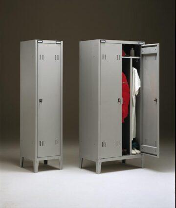 armadio sporco pulito per toelettature
